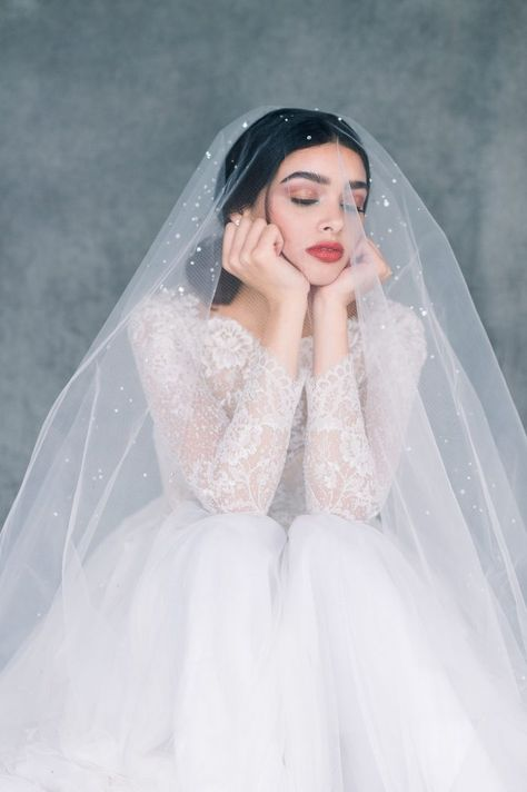 15 Regal  Romantic Cathedral Length Veils - Chic Vintage Brides : Chic Vintage Brides