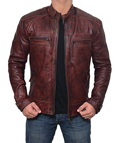 SID Lambskin Leather Mens Lambskin Leather Jacket