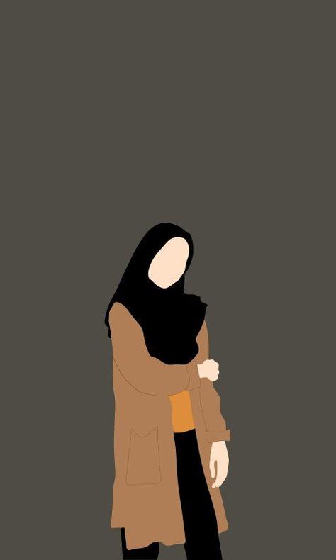 100 Ide Kartun Muslimah Di 2021 Kartun Seni Islamis Gambar