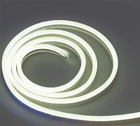 12 Volt Neon Led Rope Light In Blue Warm White And Cool White Led Rope Lights Led Rope Rope Light