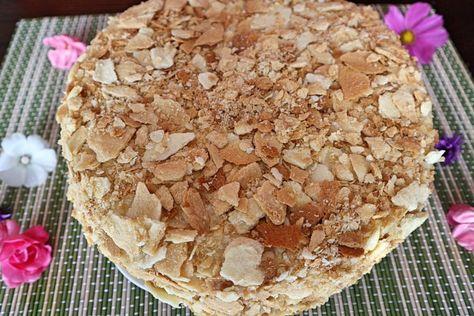 Napoleon Torte Rezept Fur Beliebten Russischen Kuchen Rezept Torten Rezepte Kuchen Rezepte Und Napoleonkuchen