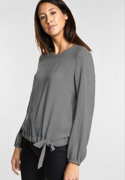 Großhändler suche nach dem besten stylistisches Aussehen Street One - Allover Print Bluse in Black | CONCEPT Mode ...