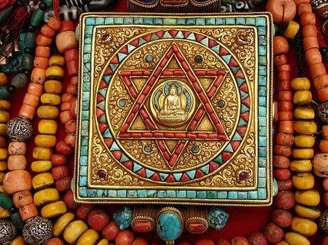 Tibetan Buddhism | Religion Department | Buddhist Prayer Box