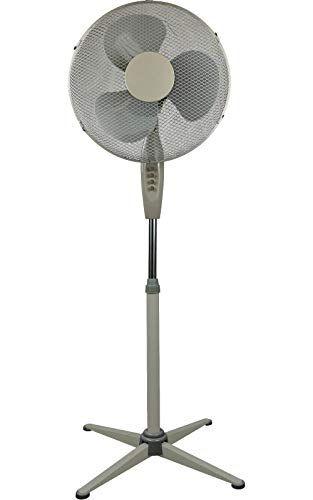 High Living Electric 16 Oscillating Extendable Free Standing Pedestal Cooling Fan Pedestal Pedestal Fan Fan
