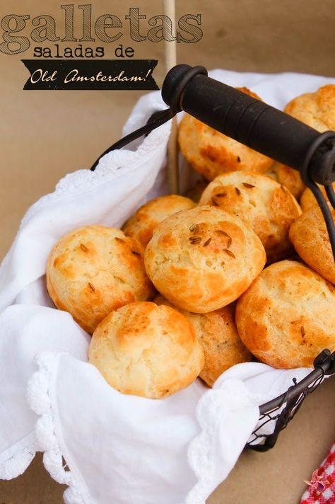 Receta de galletas saladas de queso