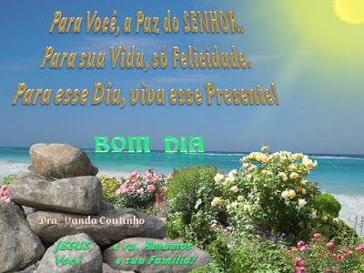 Bom Dia A Voce Pessoa Especial E Amada De Jesus A Graca E A