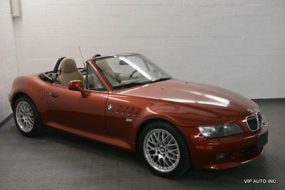 Z3 Roadster 3 0i 2001 Bmw Z3 Sienna Red Metallic With 80043 Miles