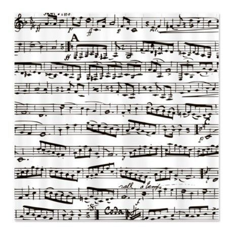 Vintage music Shower Curtain by Inspirationz Store – CafePress