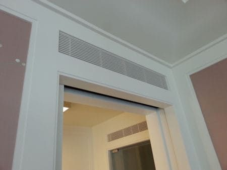 How To Soundproof A Return Air Transfer Grill Above Door Air Vent Sounproof Guide Return Air Vent Window Air Conditioning Units Sound Proofing