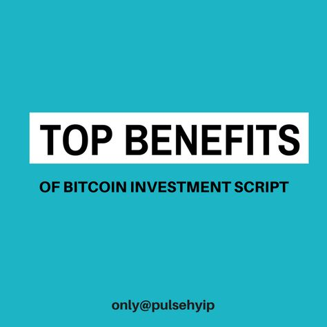 cryptocurrency investment benefits