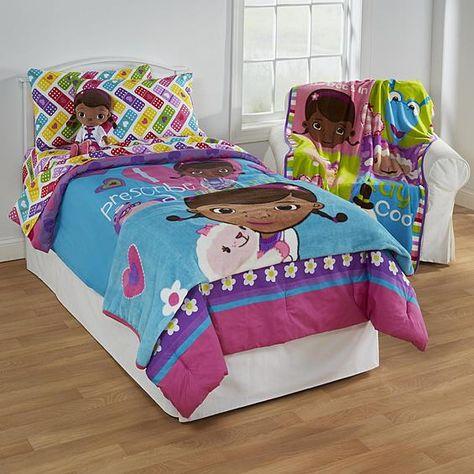 Disney Doc Mcstuffins Girls Bedding Collection Bed Bath
