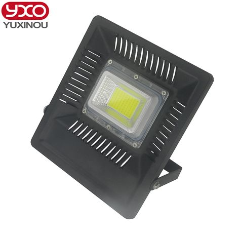 1pcs 2017 New Led Flood Light 50w 100w Led Outdoor Lighting Ac220 265v Ip66 Waterproof Led Floodlight Outdoor Wall Lamps Led Outdoor Lighting
