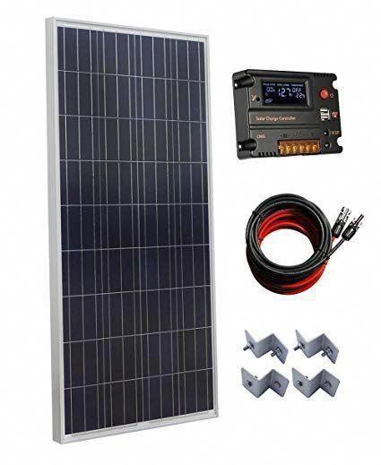 Eco Worthy 150w Polycrystalline Off Grid Solar Panel Kit With 20a Auto Switch Lcd Intelligent Regulator Ch In 2020 Solar Panels Best Solar Panels Off Grid Solar Panels