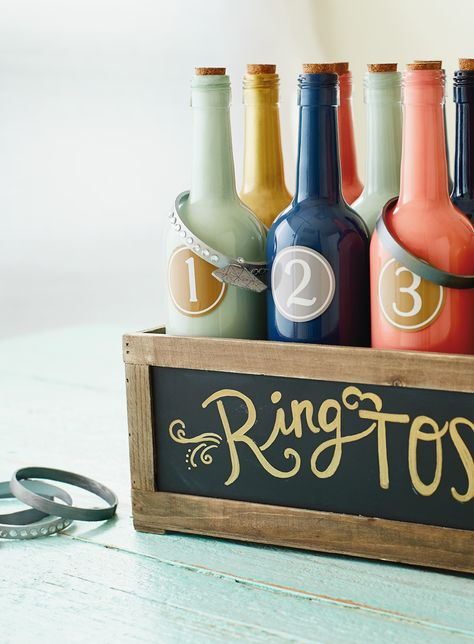 Fun Wedding Reception Games | 4 DIY wedding games and activities that'll keep your guests happy ever-after (or at least until the party's over)!
