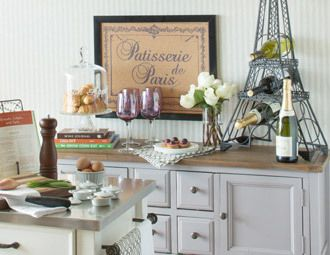 French Accessories Kitchendiyprojects Kitchen Home Improvements Pinterest