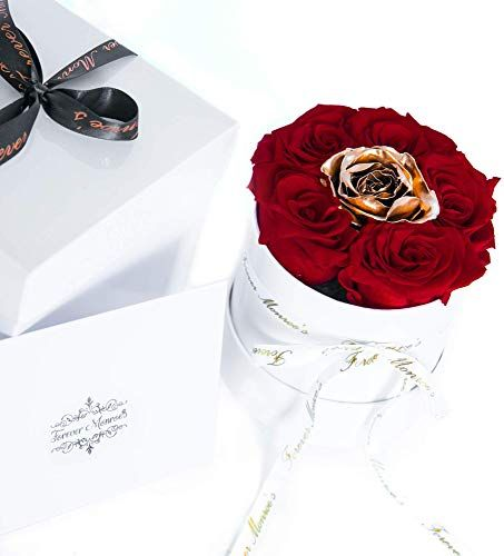 Buy Red Gold 1 Year Roses Roses Year Forever Roses Preserved Roses Roses Box Luxury Roses 365 Day Roses Premium Ecuadorian Roses Online Selectto In 2020 Forever Rose Preserved Roses Ecuadorian Roses