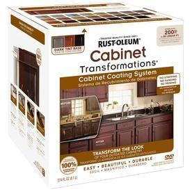Rust Oleum Cabinet Transformations Dark Base Satin Cabinet Resurfacing Kit Lowes Com Cabinet Transformations Rustoleum Cabinet Rustoleum Cabinet Transformation
