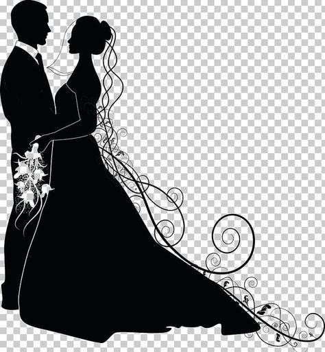 Wedding Invitation Bridegroom Png Clipart Black Black And White Bride Bridegroom Clip Art Free Png Download Free Clip Art Clip Art Wedding Invitations