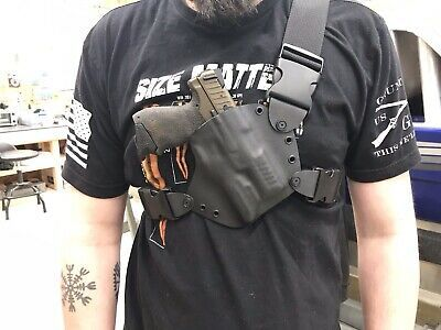Chest Holster Kydex Solid Color