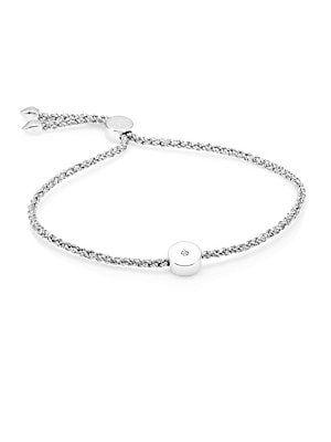 658ed5b6e Monica Vinader Linear Solo Diamond Friendship Bracelet | Saks Feb ...