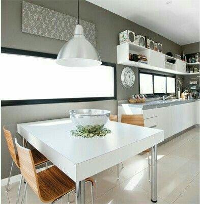 Otra Vista Del Proyecto De Ampliacion Y Remodelacion Cocina Mjr 1a10design Muebles Furniture Design Diseno Hechoenc In 2020 Home Decor Kitchen Kitchen Cabinets