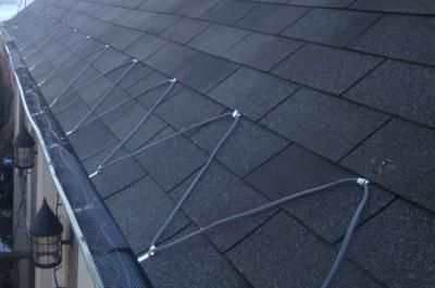 Roof Wires To Prevent Ice Dams In 2020 Roof Ice Melt Ice Dams Heating Coil