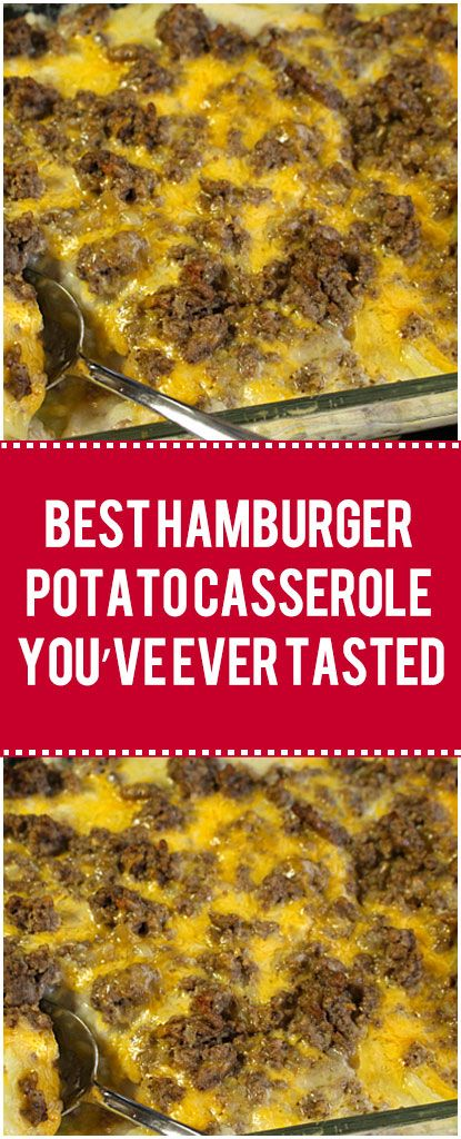 The Best Hamburger Potato Casserole You Ve Ever Tasted Hamburger Casserole Shredded Hashbrown Recipes Potatoe Casserole Recipes Hamburger Potato Casserole