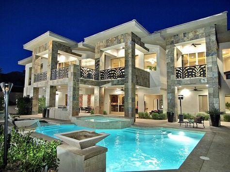 Casas Arquitectura De La Casa Y Otros Pines Populares En Pinterest Luxury Homes Dream Houses Fancy Houses Mansions