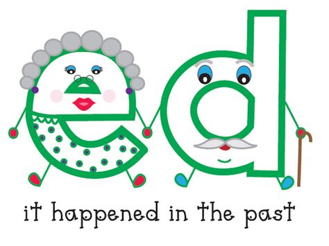 inflected endings! So cute, the kiddos will love this!