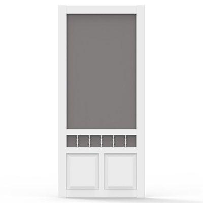Screen Tight Screen Door Het32 Heritage Vinyl White Common 32 In X 80 In Actual 32 In X 80 In Products Vinyl Screen Doors Screen Tight Doors