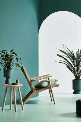 Salbeigrun Trendfarbe Mit Geschmack Wohnzimmer Gestalten Dekor Farben
