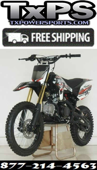 Rps Xmoto 125cc Deluxe Manual Dirt Bike With Twin Tube Cradle