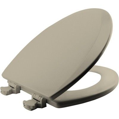 Bemis 1500ec Elongated Molded Wood Toilet Seat With Easy Clean