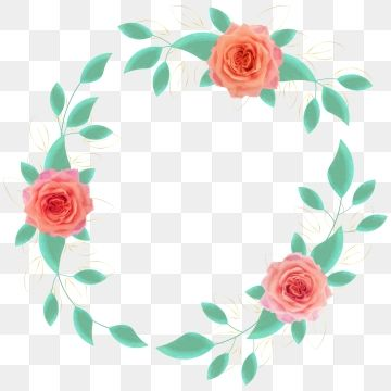 Circle Frame With Various Elegant Watercolour Flowers Vector Image Art Beautiful Blossom Png And Vector With Transparent Background For Free Download Watercolor Flower Vector Watercolor Flowers Texture Vector