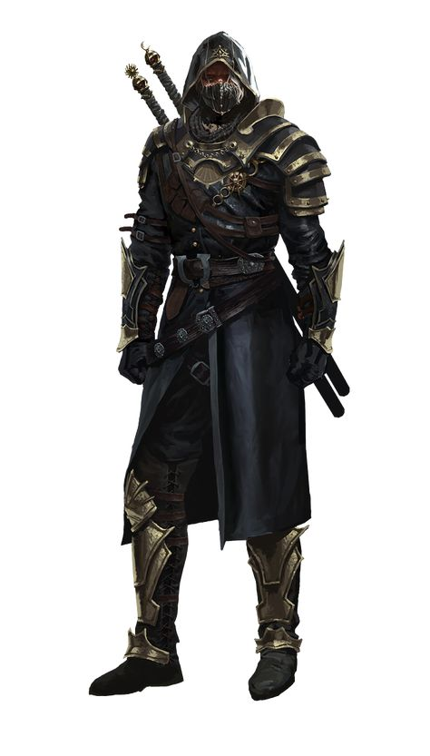 Baek-ji-middle-agesdark-assassin render by Diablo7707 on DeviantArt