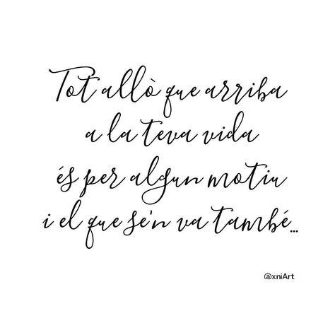 Frases En Català Frases Boniques Letteringcat Xniart