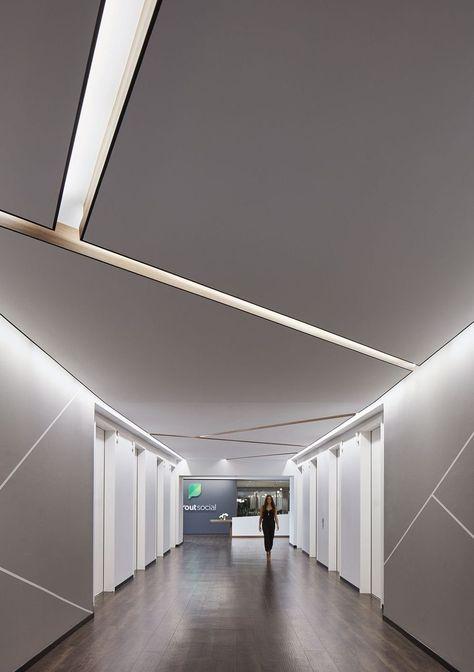 Aesthetic False Ceiling Ideas Gracing Beautiful Decor of Modern Office Designs | SHAIROOM.COM