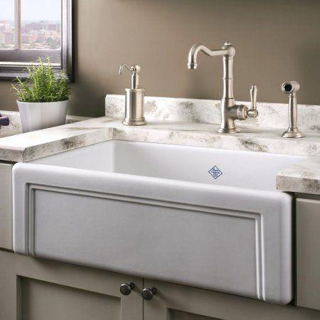 Home Improvement Apron Sink Kitchen Farmhouse Sink Kitchen