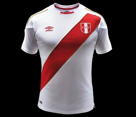 d921aca21 Perú Home Kit 2018 Umbro