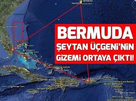 Amerika Birlesik Devletleri Nin Abd Miami Eyaletinin Guneyinde Bulunan Bermuda Seytan Ucgeni Ile Ilgili Bilim Adamlari Calismalarini T Southampton Gize Miami