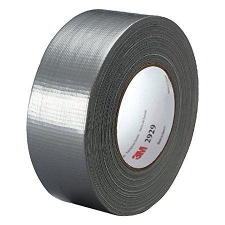 "1 Roll Silver 2/"" x 60yds INDUSTRIAL GRADE Duct Tape"