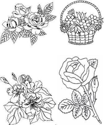 280 Malvorlagen Vorlagen Blume Blumen Rose Window Color In 2021 Geometric Tattoo Geometric Window Color