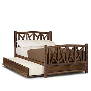 Rustic Beds Daybeds And Trundle Beds Rustic Queen Bed Trundle Bed