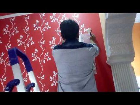 Youtube Asian Paints Asian Paints Royale Stencils Wall