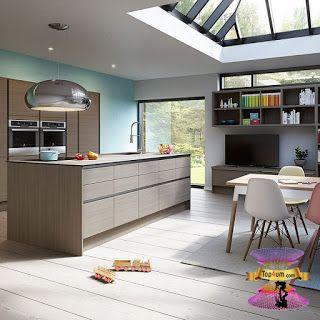 احدث كتالوج صور مطابخ مودرن 2021 Amazing Modern Kitchens Decoration Ideas Top4 Kitchen Decor Modern Modern Kitchen Kitchen Decor