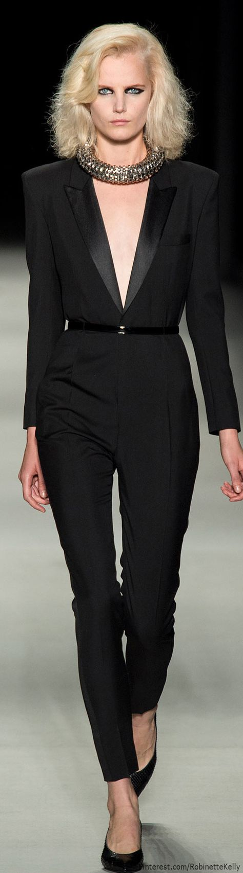 Saint Laurent   S/S 2014   The House of Beccaria