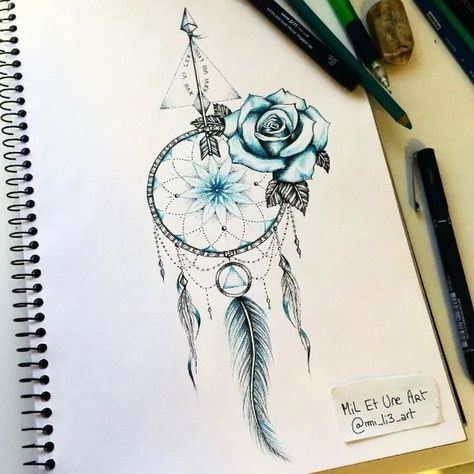 Tattoo design by @mi_li3_art