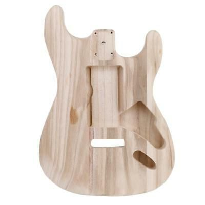 Details About 1pc Durable Maple Wood Unfinished Electric Guitar
