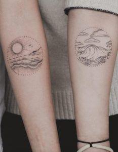 48 Charming & Unique Circular Tattoo Designs