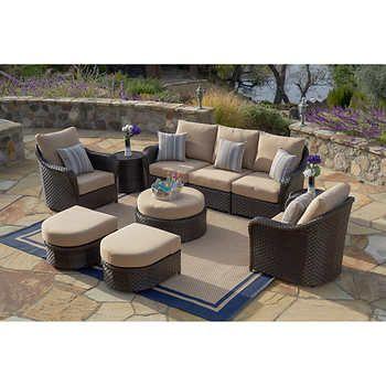 San Marino 28 Piece Estate Collection By Sirio Outdoor Furniture